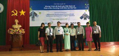 Hội thảo quốc tế: Khung trình độ Quốc gia Việt Nam và Phát triển chương trình đào tạo đại học