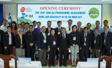 Đoàn đánh giá ngoài AUN-QA đánh giá chất lượng 04 chương trình đào tạo của Trường Đại học Nông Lâm TP.HCM