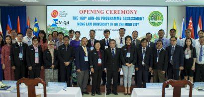 Trường Đại học Nông Lâm TP.HCM nhận Giấy chứng nhận đạt chuẩn AUN-QA của 4 chương trình đào tạo