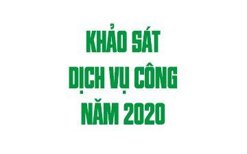 Thông báo lấy ý kiến đo lường dịch vụ công của trường Đại học Nông Lâm TP.HCM năm 2020
