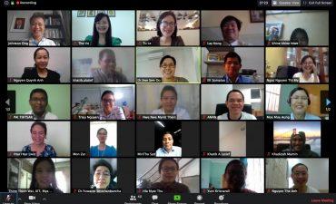 Hoạt động thảo luận trực tuyến thông qua hệ thống nền tảng trực tuyến Zoom