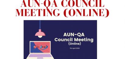 Kỳ họp trực tuyến của Hội đồng AUN-QA