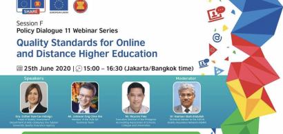 Hội thảo trực tuyến SHARE: Chuyên gia của AUN-QA chia sẻ về mô hình đảm bảo chất lượng giáo dục trực tuyến