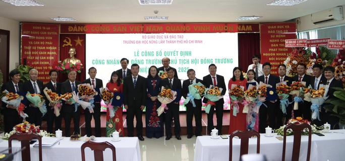 Trường Đại học Nông lâm TP.HCM công bố hội đồng trường