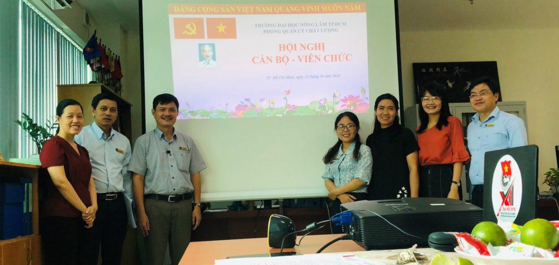 Hội nghị Cán bộ – Viên chức năm học 2020 – 2021