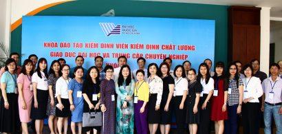 Khai giảng khóa đào tạo Kiểm định viên kiểm định chất lượng giáo dục đại học và trung cấp chuyên nghiệp khóa 16