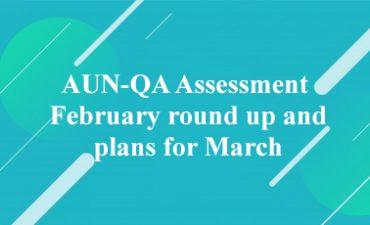 Đánh giá AUN-QA trong tháng hai và kế hoạch cho tháng ba