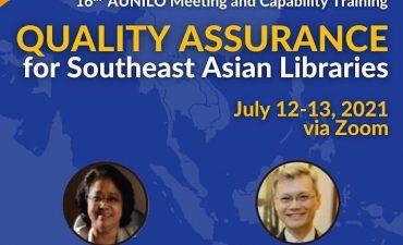 Hội thảo AUNILO lần thứ 16 và đào tạo năng lực bảo đảm chất lượng cho các thư viện ở Đông Nam Á