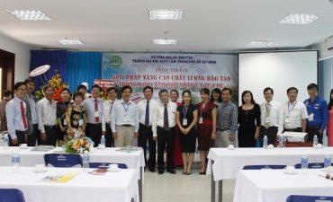 Hội thảo Nâng cao chất lượng đào tạo trong bối cảnh hội nhập và tự chủ