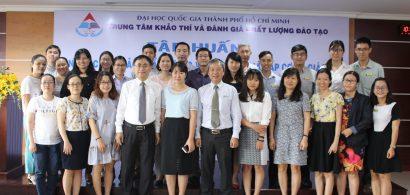 Tập huấn Công tác ĐBCL & TĐG cấp CSGD theo bộ tiêu chuẩn của Bộ GD&ĐT